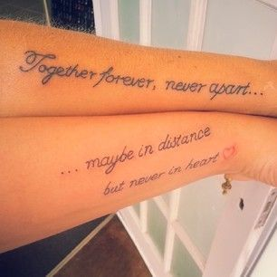 Inspiring Mother Daughter Tattoos - Insanely Gorgeous Designs