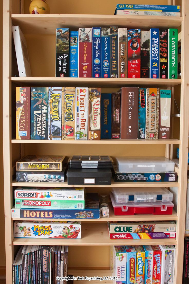1000 Images About Organize Games Amp Toys On Pinterest