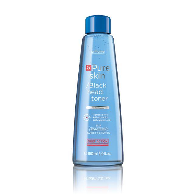 Pure Skin pattanáskezelő arctonik  www.lilakozmetika.hu Az arctonik mélyen tisztítja az arcbőrt és gyengéden összehúzza a pórusokat. Vidd fel egy vattapamacsra, és simítsd át vele a bőröd. Eltávolítja a felesleges zsiradékot és csökkenti a pattanások kialakulását. 150  ml Kód:20166 900 Ft