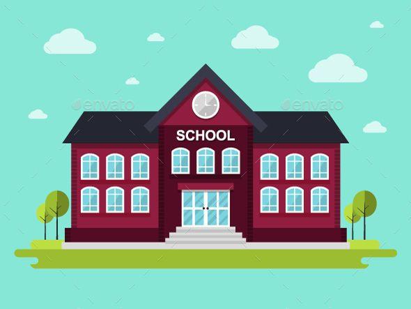School Vector illustration EPS. Download here: https://graphicriver.net/item/school/14088133?ref=ksioks