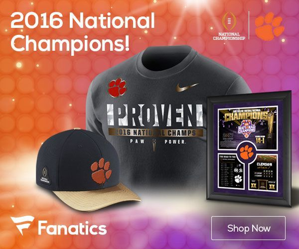 Clemson Tigers 2016 National Champions Gear--Get it here! {Affiliate link}