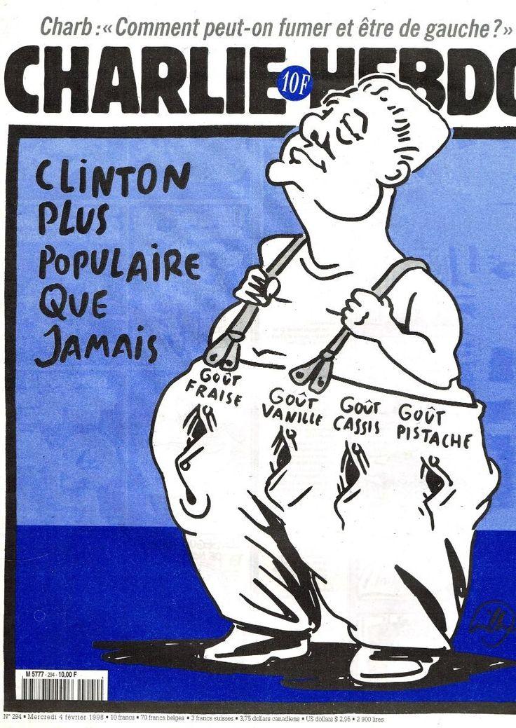 Charlie Hebdo - # 294 - 4 Février 1998 - Couverture : Willem