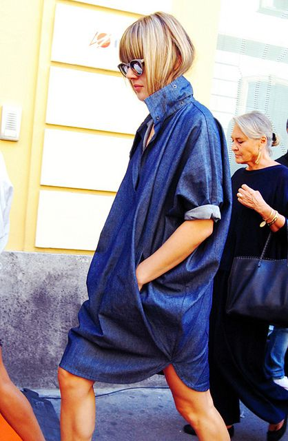 Love this. Love this so so much… / #style #blue #denim