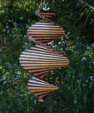 Lovely How To Make A Spiral Wind Spinner