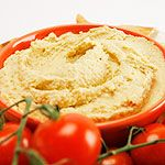 Homemade Hummus ... not had much luck with this before, but I can't stop trying new recipes