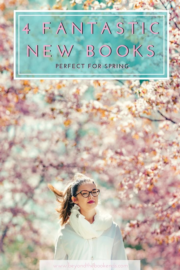 Looking for the perfect spring break read? We've got you covered with four great book recommendations in 4 different genres!