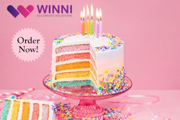 Celebrations become more special when it is completed by fascinating desserts and for that send delicious #cakes to your beloved ones from #Winni simply visit: https://www.winni.in/cake-delivery-in-hyderabad
