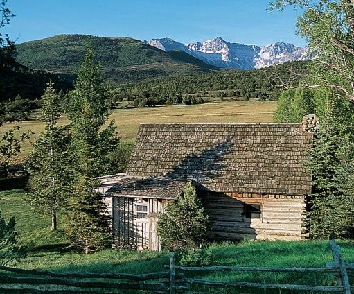 cabin on ralph lauren's ranch: Ranch, Architectural Digest, Log Cabins Homes, Dream, Brown Cabin, Colorado, Children
