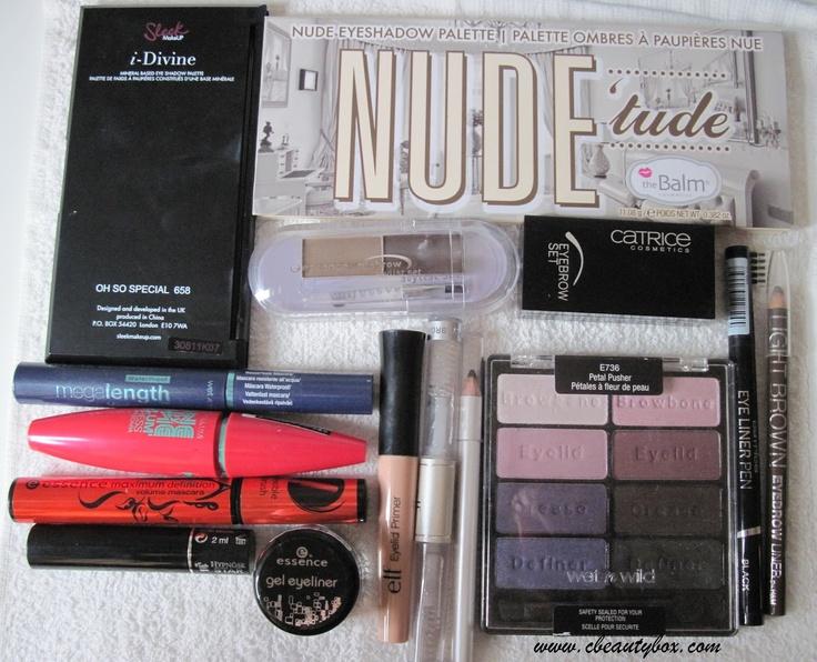 Cristina's Beauty Box | Beauty Blog : In my makeup box: September