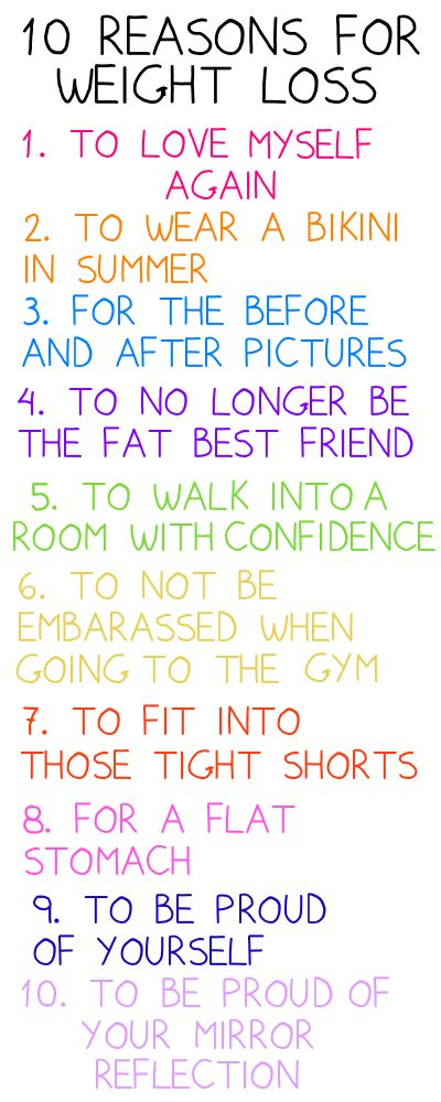 More like 8 Reasons. I have no desire to wear a bikini. And I'm up in the air about the 'flat stomach' part.