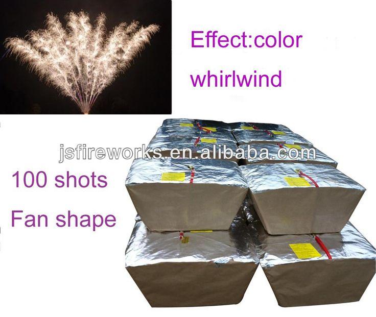 500gram 100S Fan Cake Firework For Sale