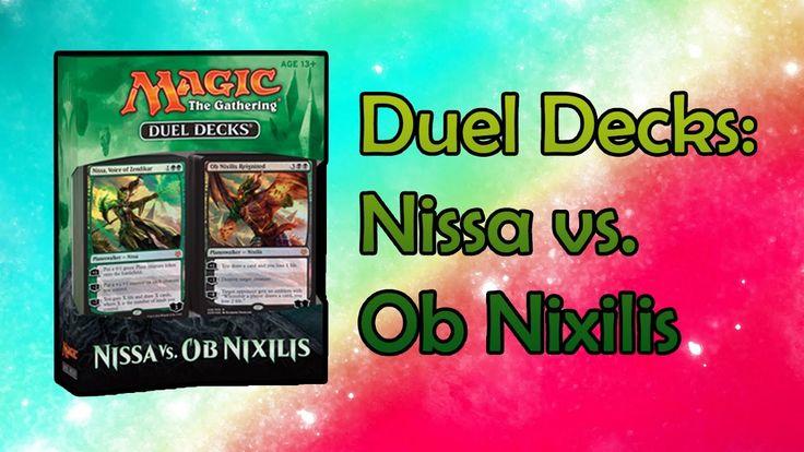 MTG - Duel Decks Nissa vs Ob Nixilis Opening