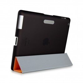 When combined with Apples iPad Smart Cover, SmartShell provides front-to-back coverage for your iPad 2. This form-fit hard iPad 2 case covers the back of your iPad, and works seamlessly with your Smart Cover for complete, streamlined protection. An embedded magnet holds your Smart Cover in place when folded back. Plus it has a soft-touch finish that feels great and gives you a secure, comfortable grip. *Smart Cover sold separately!