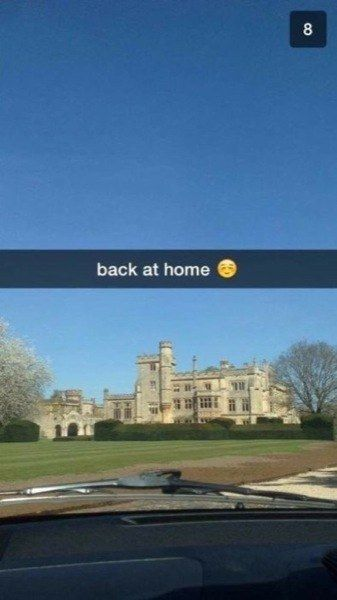Moats, amirite? | 17 Times The Rich Kids Of Snapchat Ruined Everything
