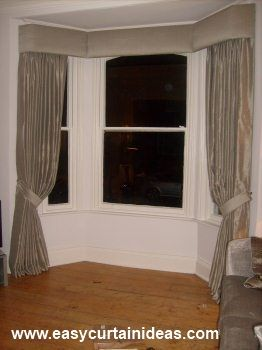 Bay Window Cornice Idea Treatments For D R Pinterest