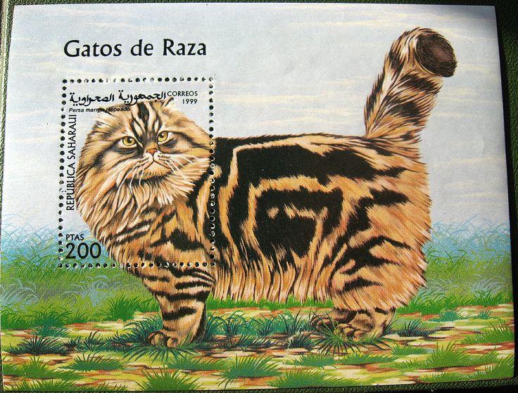 Cats in Art, Illustration and Philately: Sahrawi Arab Democratic Republic, 1999