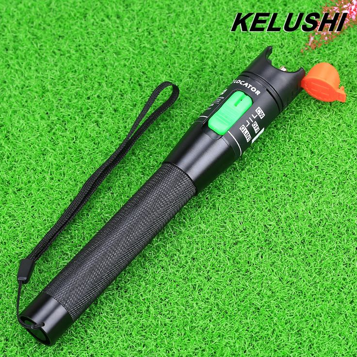 Kelushi金属光ファイバーケーブルテスターレッド光源30メガワット光ファイバー可視光源30キロメートルで2.5ミリメートルconnecotor