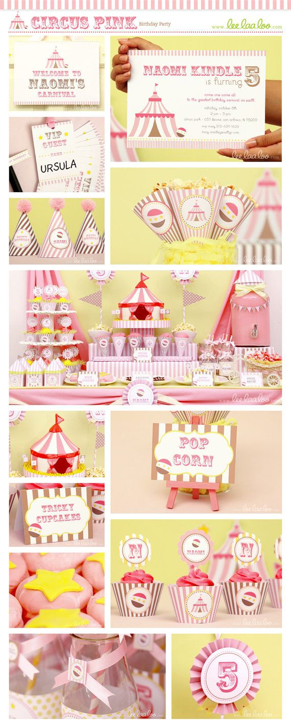 Circus Birthday Party Package Collection