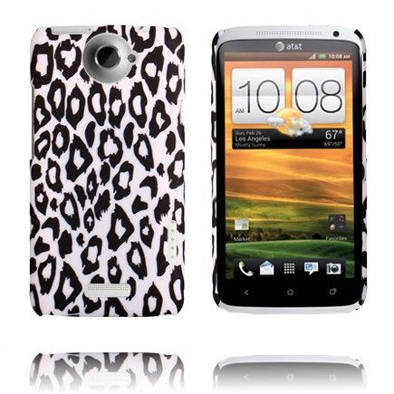 Leopard Fashion (Hvit Ver. I) HTC One X Deksel