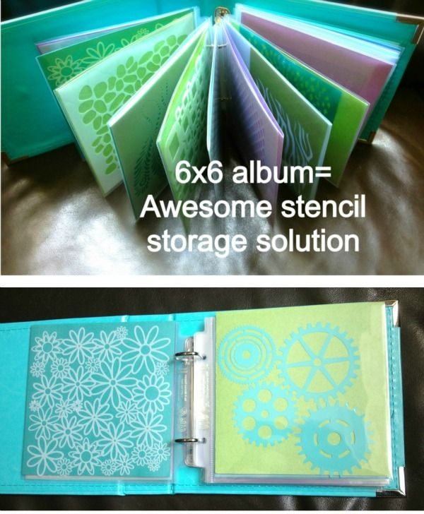 Cake Stencil Storage via SugarNosh Treats what a simple great idea to file all your stencils
