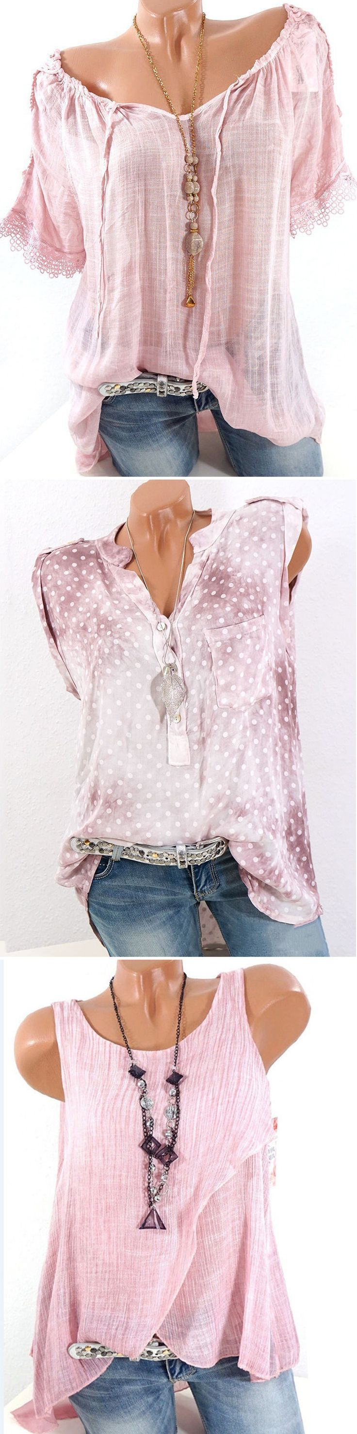 UP TO 55% OFF! Find Plus Size Fashion and Vintage Tops,Shirts,Blouse,and T shirt... 17