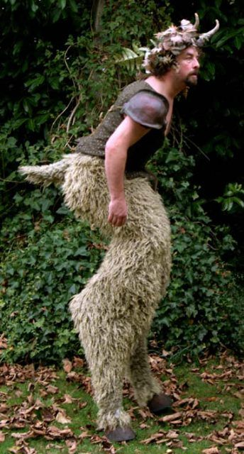 Satyr - next Halloween, baby! I've got 11 months to knit those leggings!
