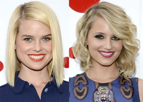 Beauty Insperation from Alice Eve and Dianna Agron.Diannaagron