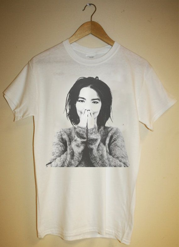 Bjork T-Shirt electronica alt rock trip hop by 88andSafari on Etsy