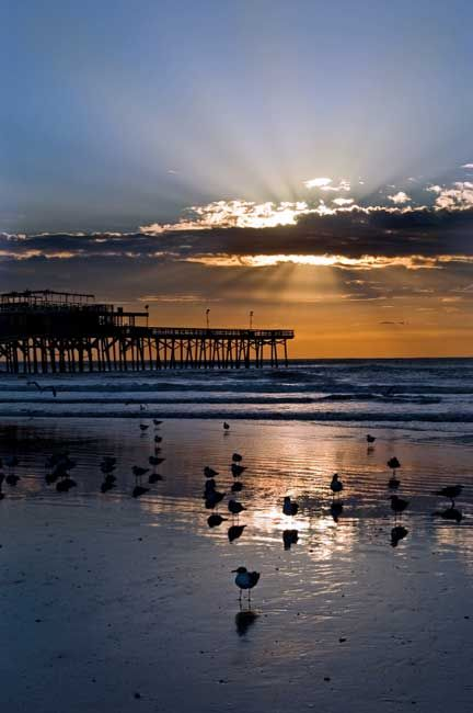 3rd Coast Romance....61st street pier @ Sunset......This Could Cause Some Memories............