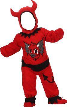 Cantentito disfraz de #demonio, para peques de 12 a 24