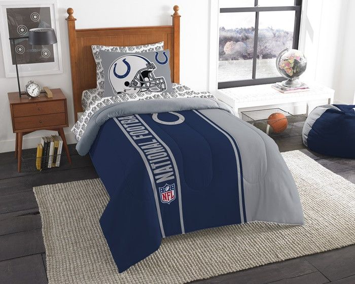 Marvelous Indianapolis Colts NFL Twin Bed In A Bag With Sheets