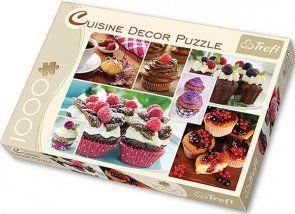 Puzzle 1000 Trefl 10360 Decor Muffiny - Kolaż
