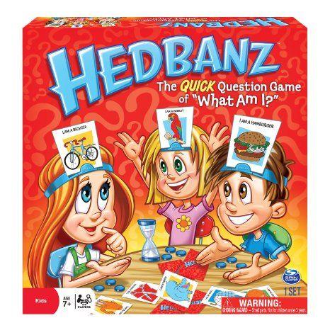 Amazon.com: HedBanz Game: Toys & Games