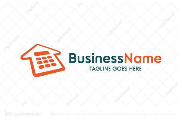 Logo for sale: House Calculator Logo. Unique Calculator House logo for home appraisal business. The symbol itself will looks nice as social media avatar and website or mobile icon. home house residential real estate realty realtor property appraisal assessment estimation value appraiser appraise valuation evaluation buy purchase sell on sale sold product business brand design graphic unique recognized professional software apps app applications application logo logos