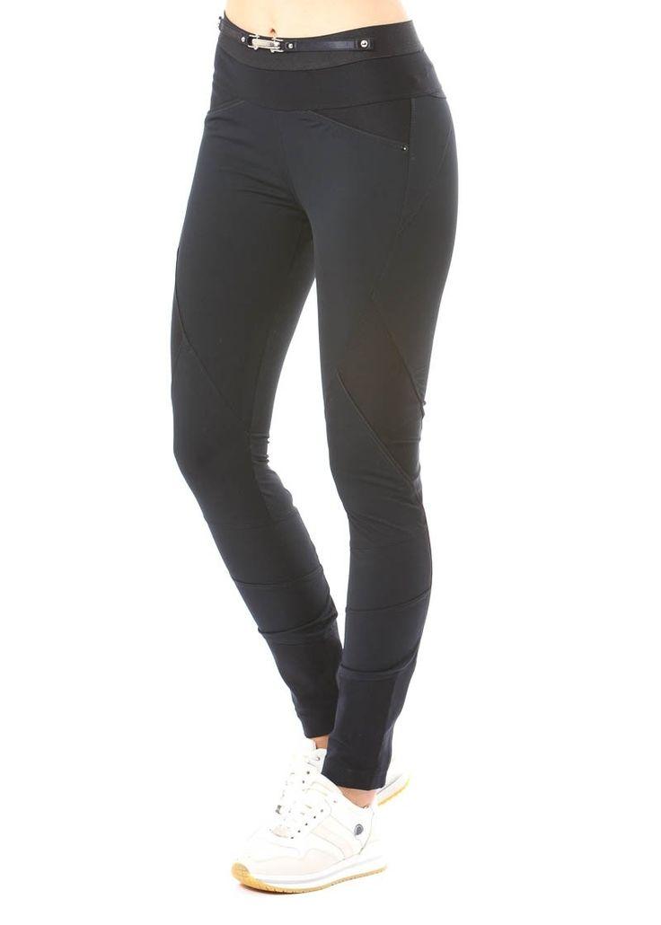Hose LAY-OUT ist ein Klassiker von HIGH und wurde wieder neu aufgelegt. Diese engsitzende Stretchhose mit Nähten im Bikerstil ist bequem und sitzt wie eine zweite Haut.