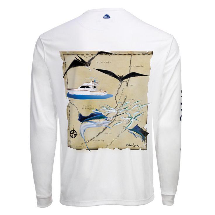 Men's OTP UV Shirt: South Florida Sailfish
