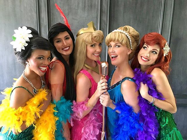Pin for Later: 37 Creative Disney Princess Group Costumes Flappers