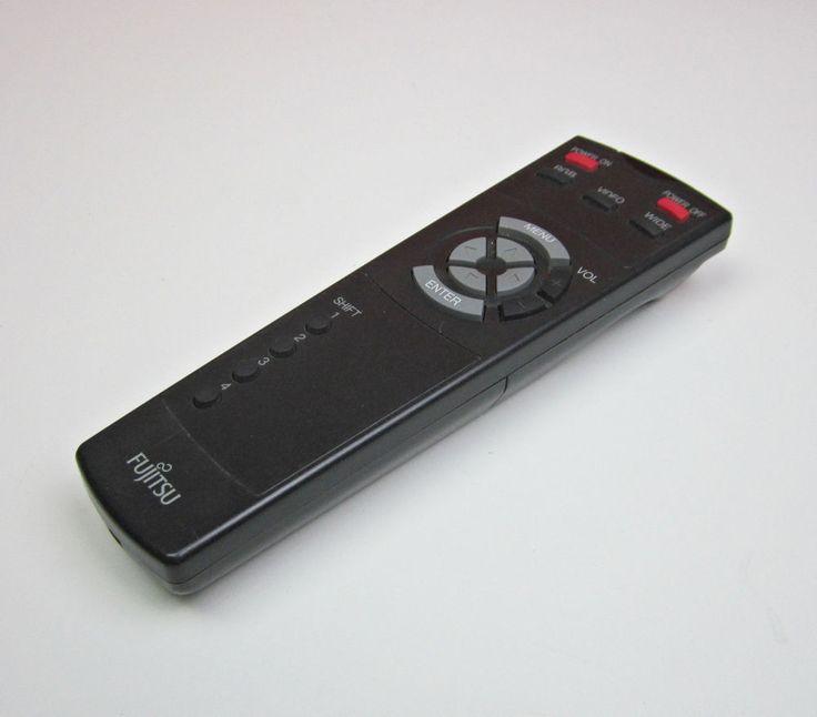 Fujitsu Plasma TV Remote Control P 42RM07 H OEM Tested Working #Fujitsu