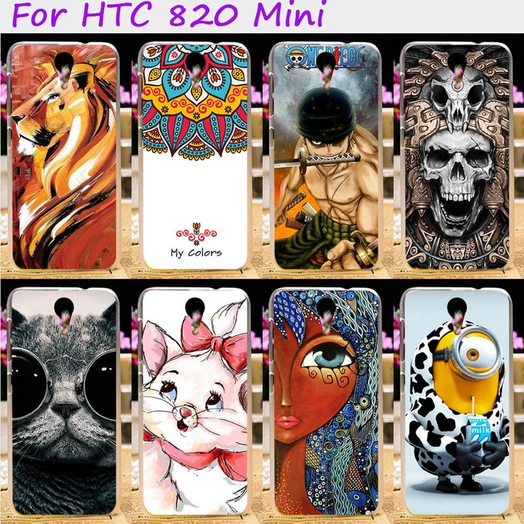 Жесткий Пластик и Мягкий ТПУ Телефон Обложка Для HTC DESIRE 620G HTC Desire  820 Mini D820mu