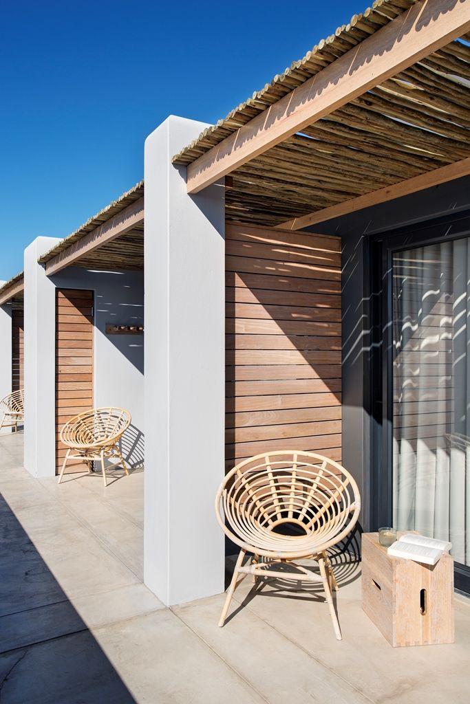 Windtown Langebaan Guest Suite Entrance. Interior design by Source Interior Brand Architecture.
