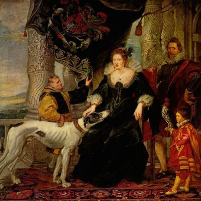 Peter Paul Rubens: Alathea Talbot, Gräfin in Shrewsbury