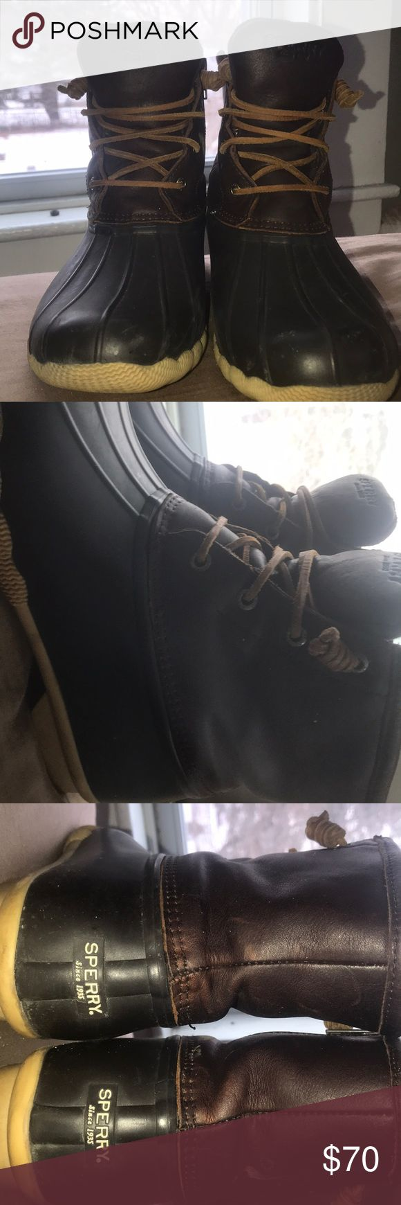 Sperry Duck Boots Women's 8.5, 8/10 condition. Sperry Shoes Winter & Rain Boots