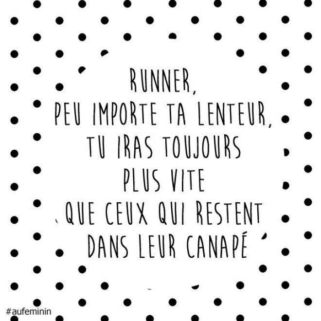 Courez, même lentement