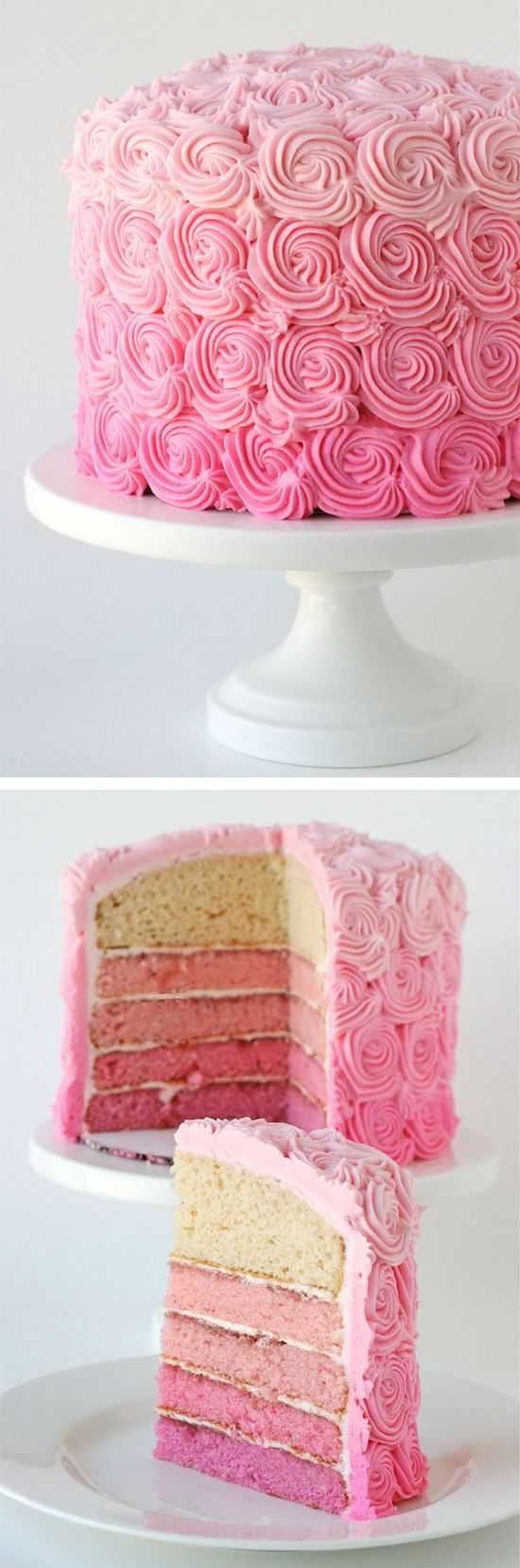 The most beautiful cake recipes