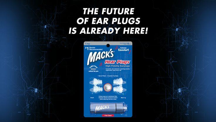 The Future Of Ear Plugs Is Already Here! http://www.macksearplugs.com/details/musicians-ear-plugs/hear-plugs-ear-plugs