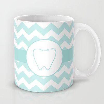 Chevron+Tooth+Mug+by+ProBoutique+-+$15.00 nerdy hygienist