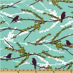 Joel Dewberry Aviary 2 Sparrows Plum: Pillows Covers, Nurseries Decor, Sparrow Plum, Fabrics Ideas, Joel Dewberry, Crafts Projects, Beautiful Birds, Yard Art Crafts, Free Spirit