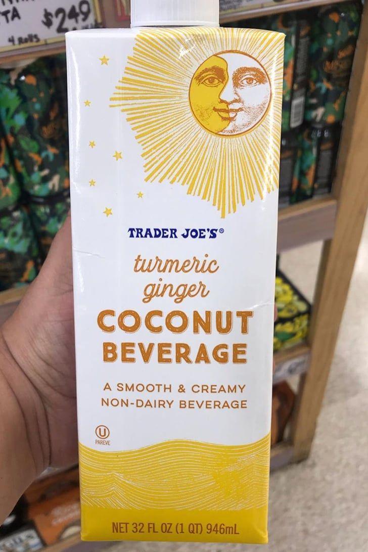 Aka Milky Love Porn trader joe's turmeric ginger coconut beverage is here for