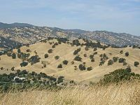 Vacaville, California...running laps for hours
