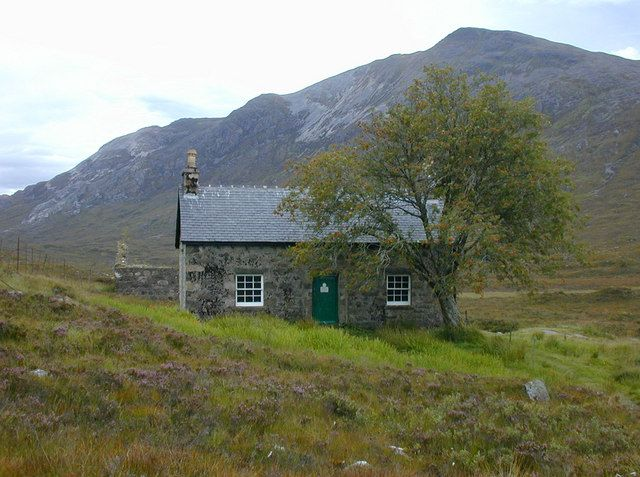 A bothy is a basic shelter, usually left unlocked and available for anyone to use free of charge. It was also a term for basic accommodation, usually for gardeners or other workers on an estate. Bothies are to be found in remote, mountainous areas of Scotland, northern England, Ireland, and Wales. They are particularly common in the Scottish Highlands (but related buildings can be found around the world, e.g. in the Nordic countries there are wilderness huts).